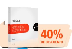 Tango Gestión - Estudios Contables 40% de descuento